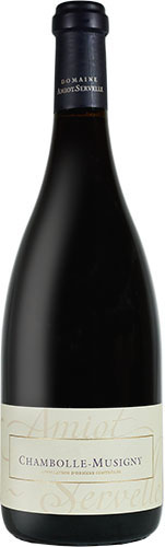 Chambolle Musigny Amiot Servelle rouge 2017