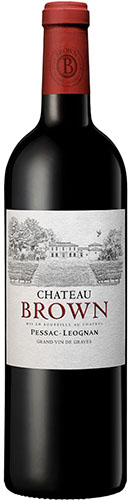 Brown rouge 2017 vin de Pessac Léognan