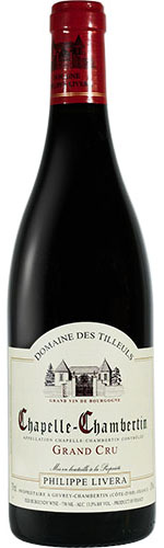 Domaine des Tilleuls Chapelle Chambertin rouge 2015