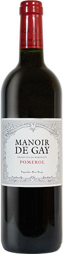 Manoir de Gay 2016 vin de Pomerol second vin du château le Gay